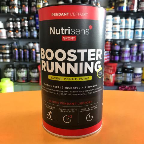 Booster running