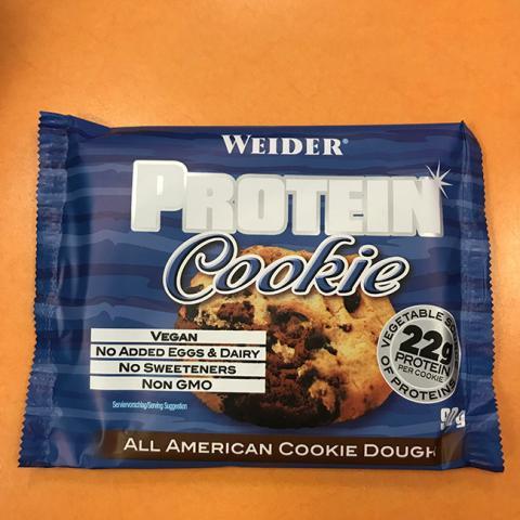 protein cookie weider