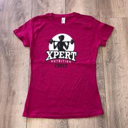 t-shirt femme nutrition